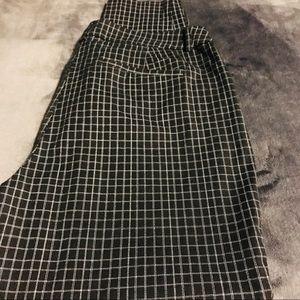 Maurice's Women's Size 13/14 Plaid Dress Pants